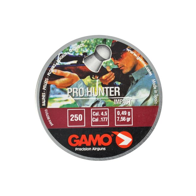 Chumbinho Gamo Pro Hunter 4.5mm 250un.