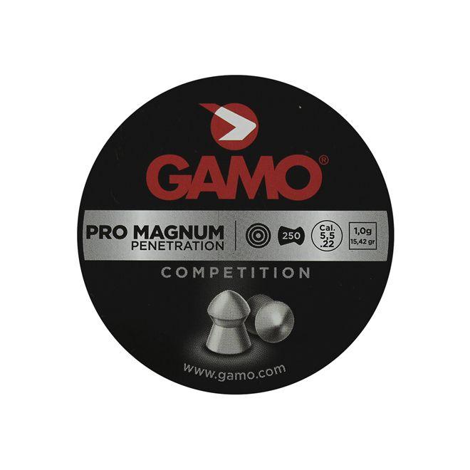 Chumbinho Gamo Pro Magnum 5.5mm 250un.