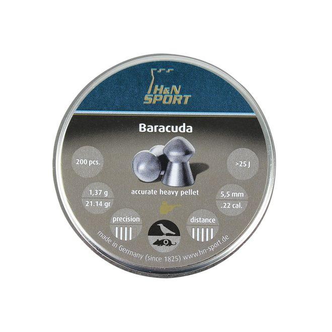 Chumbinho H&N Baracuda 5,5mm 200un