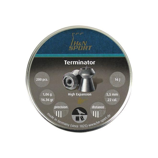 Chumbinho H&N Terminator 5,5mm 200un