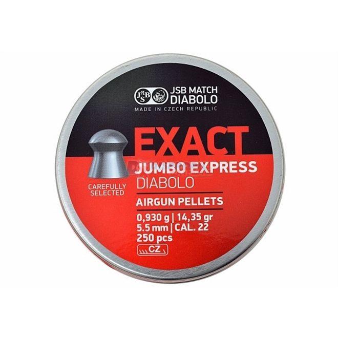 CHUMBINHO JSB EXACT EXPRESS 5,5 250 UNIDADES