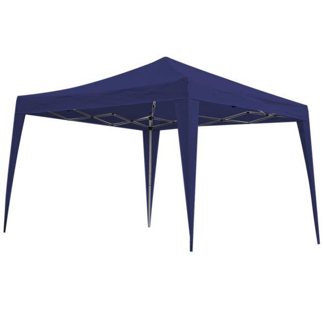 Gazebo / Tenda Sanfonada Nautika Trixx 3m x 3m Azul