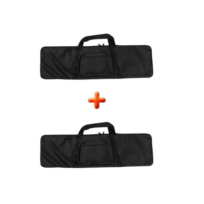 Kit 2 Capa / Case Airsoft Simples 95x28cm - Pronta Entrega