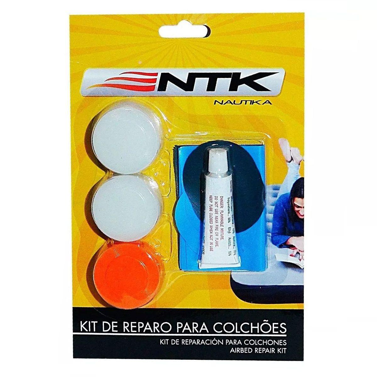 Kit Reparo Para Colchão Inflável Nautika
