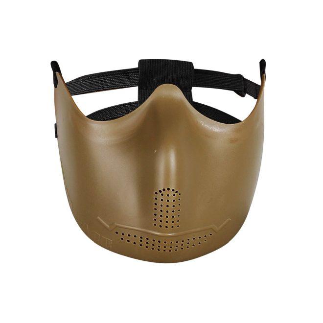 Máscara de borracha flexível Hakkotsu (Iron face tan)