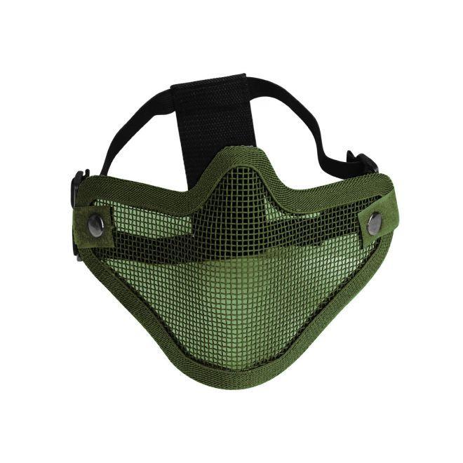Máscara de Proteção Airsoft Evo Tactical Meia Face Verde