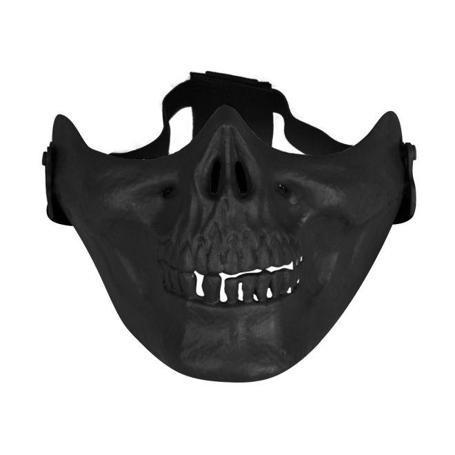 Mascara de protecao facial Avenger Skull Airsoft Goggle BLACK