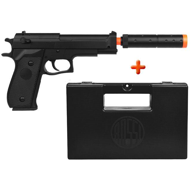 Pistola Airsoft Spring Beretta M22 + Case Maleta