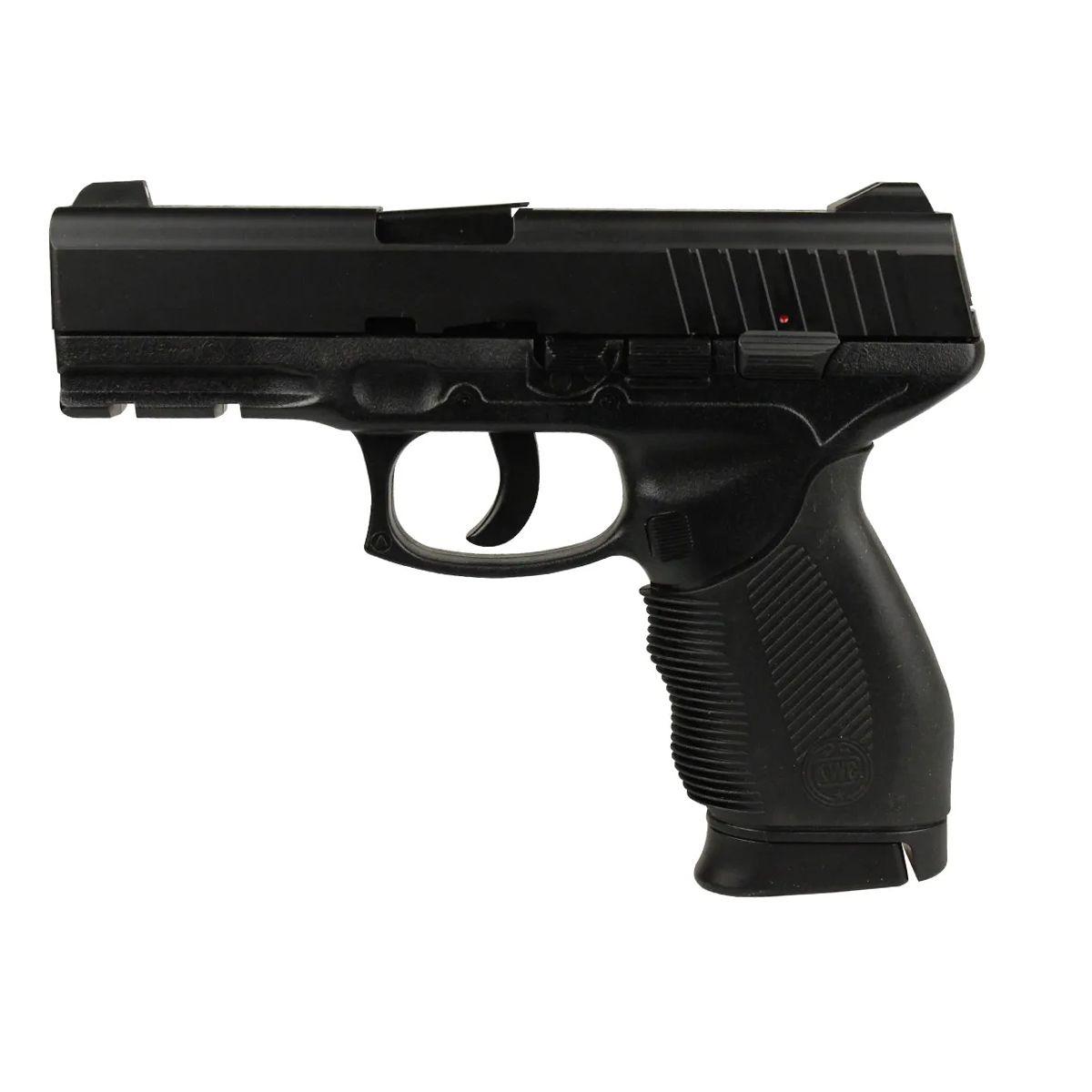 Pistola De Pressão Mola KWC 24/7 Slide Metal 4.5mm