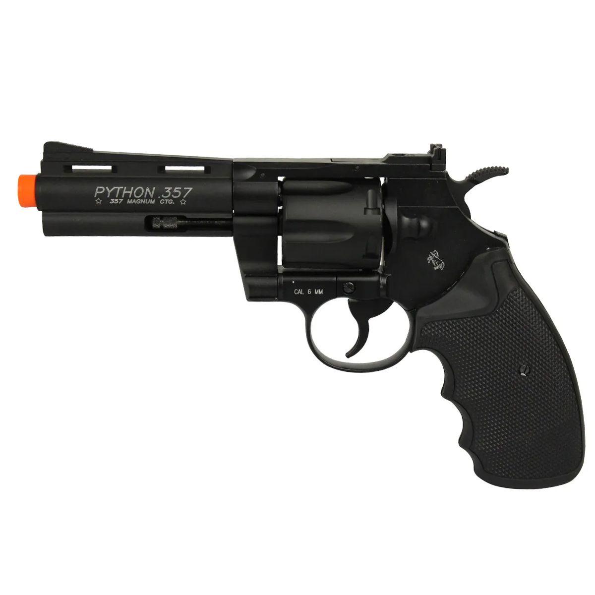 Revólver Airsoft Co2 Colt Python 357 Full Metal Cybergun 6mm