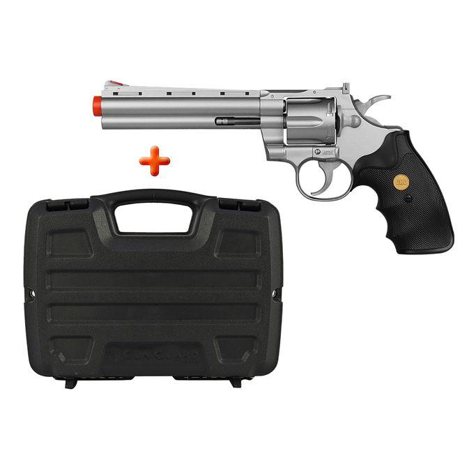 Revólver Airsoft Spring UHC UA-938S + Case Plano