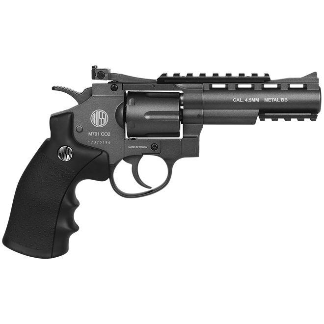 Revolver De Pressão Co2 Wg 701 Full Metal 4,5mm - 1424504051