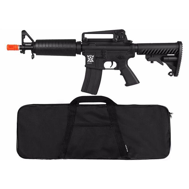 Rifle Airsoft Elétrico APS M933 Kompetitior Blowback Semi-metal + BRINDE Capa Simples