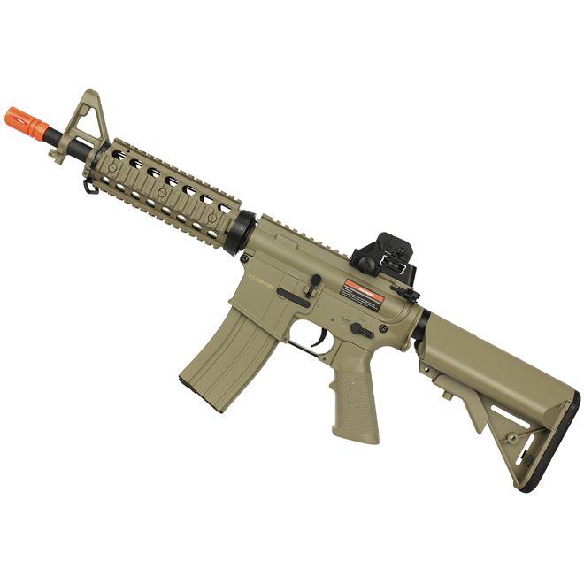 Rifle Airsoft Elétrico Cyma M4 CQB CM506 Tan Bivolt