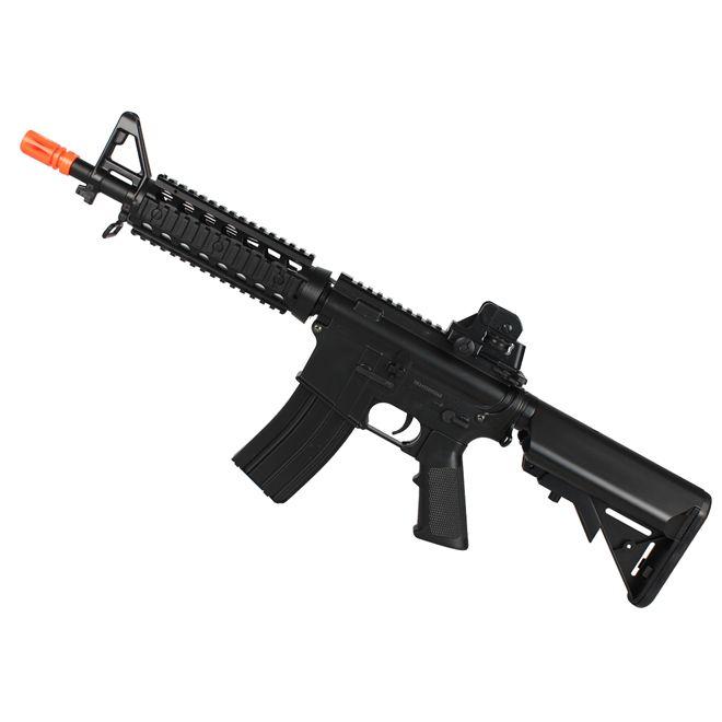 Rifle Airsoft Elétrico Cyma M4 Cqb Ris CM506 Bivolt
