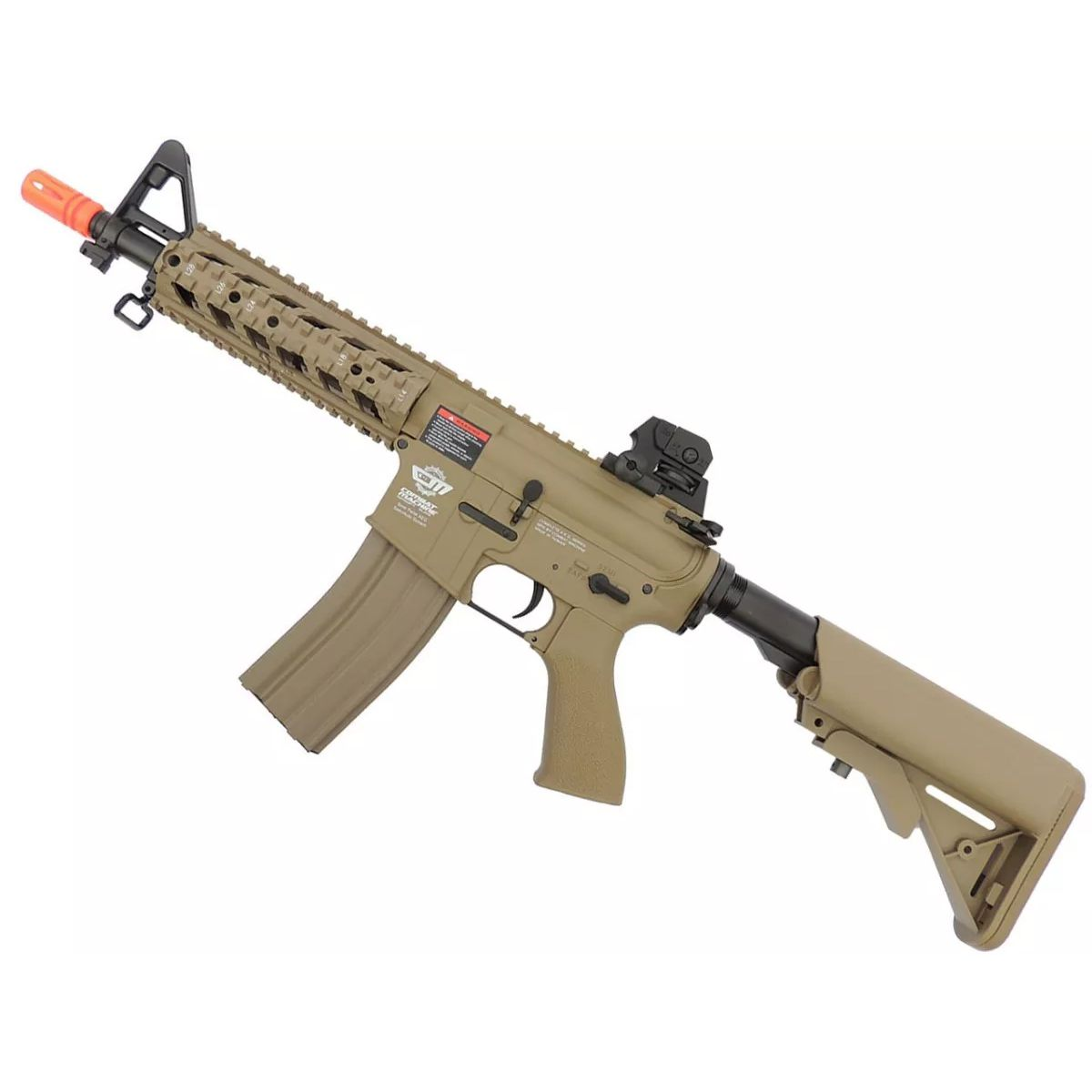Rifle Airsoft Elétrico G&G CM16 Raider Desert Semi-Metal