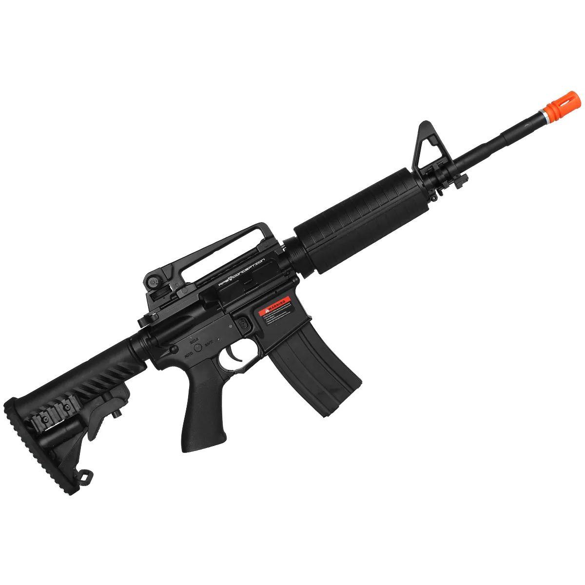 Rifle Airsoft Elétrico M4A1 Blowback Full Metal Bivolt