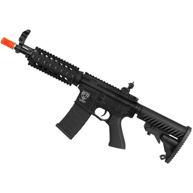 Rifle Airsoft M4A1 CQB R Full Metal A.P.S Blowback 6mm - ASR103