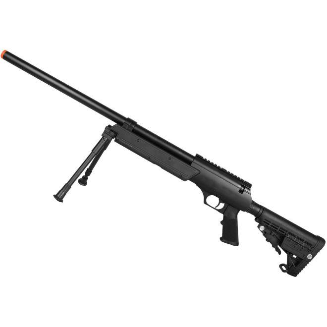Rifle Airsoft Spring Sniper MB13B + Bipé Tático