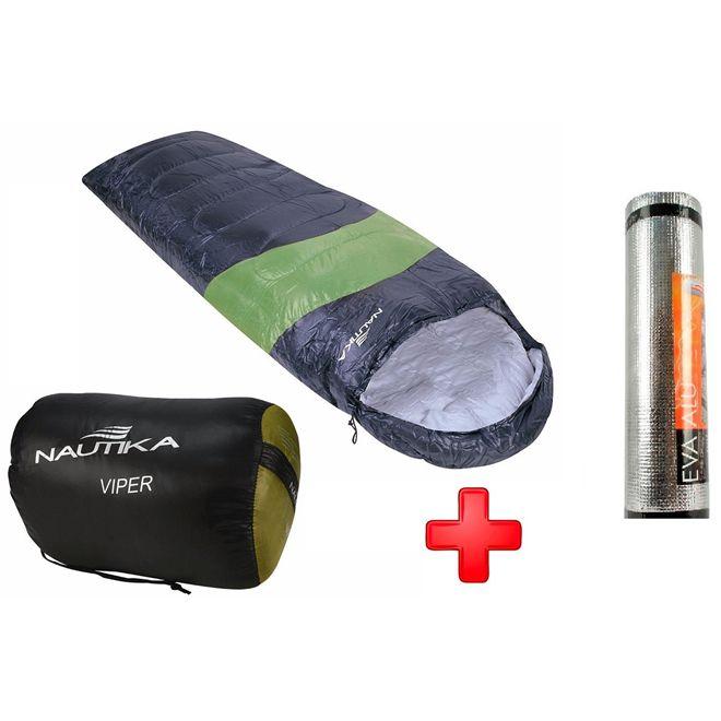 Saco De Dormir Viper 5ºc A 12ºc + Isolante Aluminizado