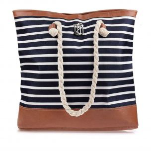 Bolsa Summer Navy Blue/Carameloo