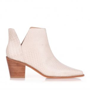 Bootie New Western Cut out