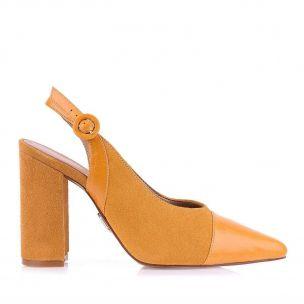 Chanel Salto Alto Mustard