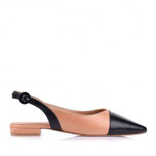Chanel Salto Baixo Preto