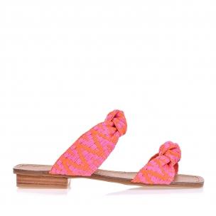 Flat Crever Braid Pink