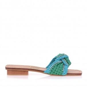 Flat Crochet Ocean