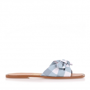 Flat Gran Vichy Blue