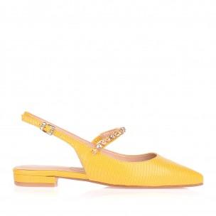 Flat Liza Metal Amarelo