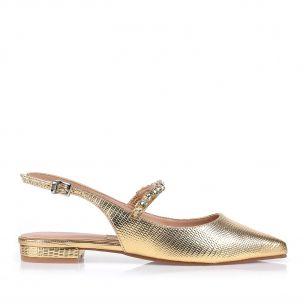 Flat Liza Metal Ouro