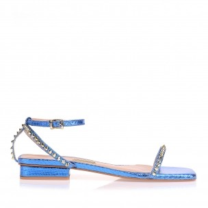 Flat Metal Serpente Azul