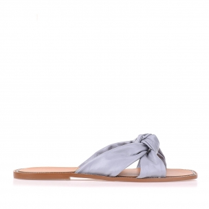 Flat New Couro Blue
