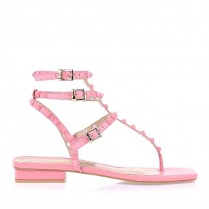 Flat New Couro Light Pink