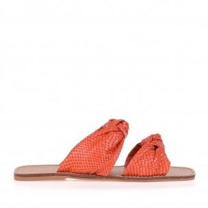 Flat New Snake Orange