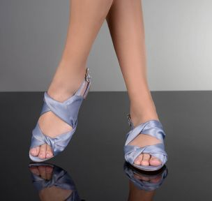 Flat  Satin Denim