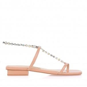 Flat Square Shine Anklet