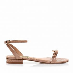 Flats Snake Lux Tan