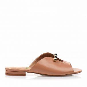 Flats Veneto Tan