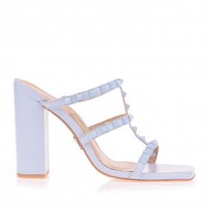 Sandália Salto Alto Candy Bleu