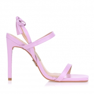 Sandália Salto Alto Candy Lilac
