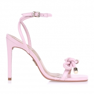 Sandália Salto Alto Candy Rose