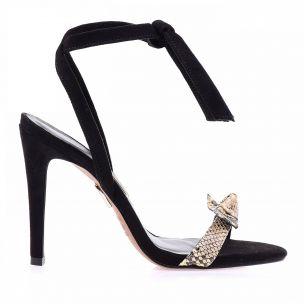 Sandália Salto Alto Snake Chloe