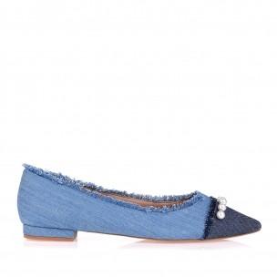 Sapatilha Jeans Blue Blue