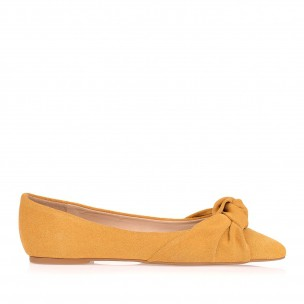 Sapatilha New Suede Mustard