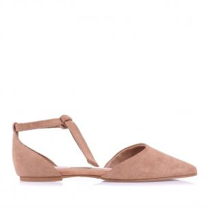 Sapatilha New Suede Nude