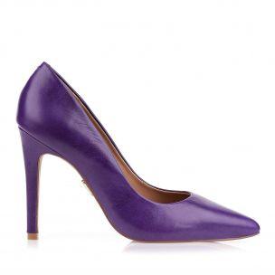Scarpin Salto Alto Violeta