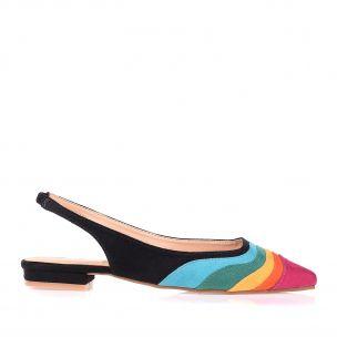 Slingback Flat Multicolor